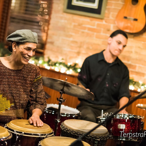 Playing with Drummer Evan Hyde