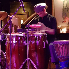 Playing at Cliff Bells in Detroit