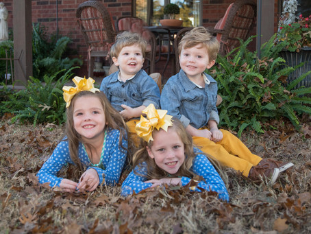 Sibling Spot: Paisley, Presley, Patton, and Pierson