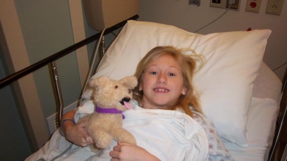 Kaylie's cochlear implant surgery