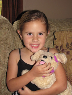 Kid and Sophie with Cochlear Implant