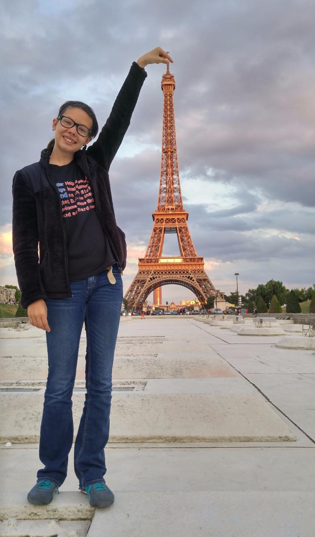 Alexis in Paris