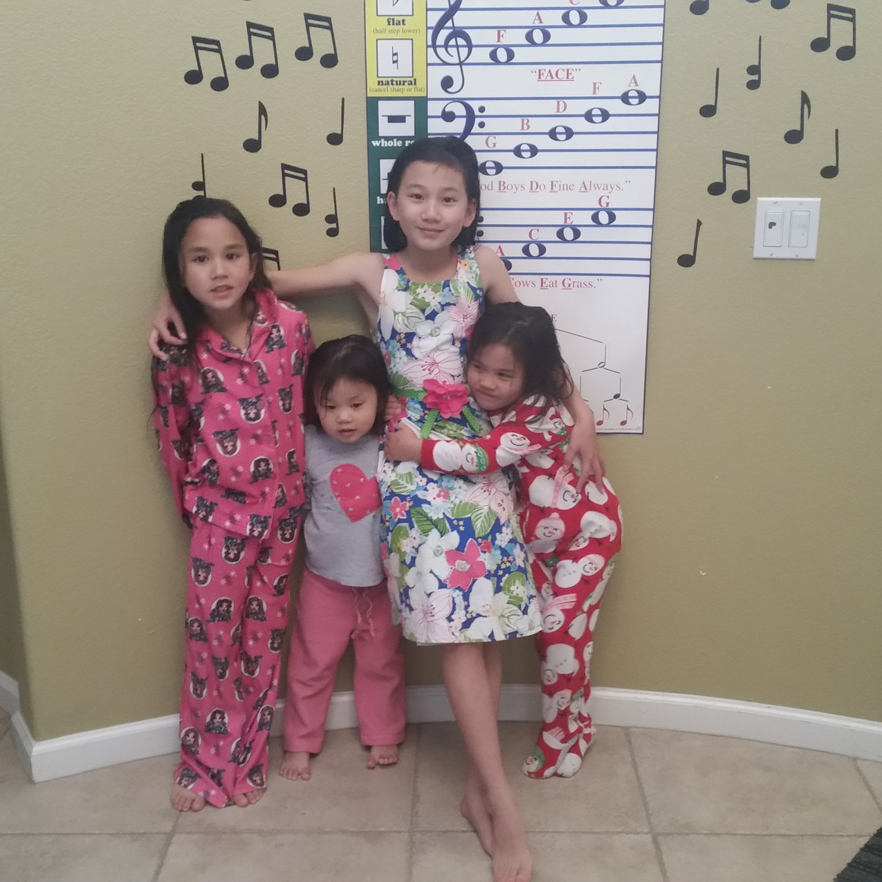 Musical family with hearing loss