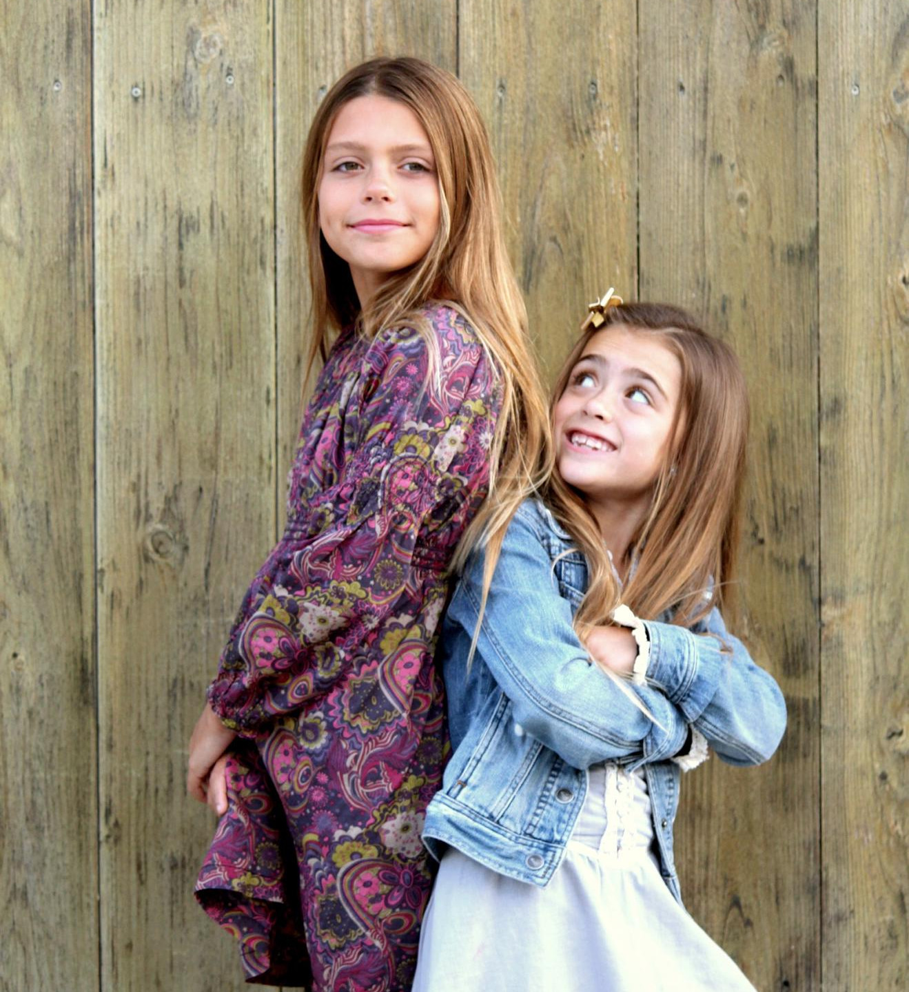 Sisters with hearing loss