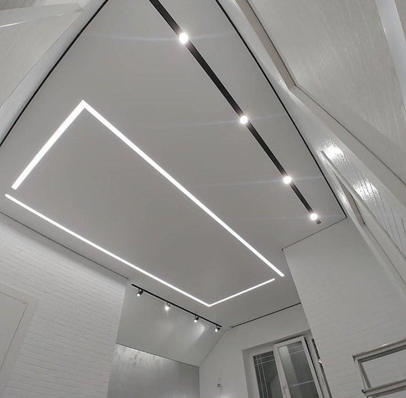 Расположение, угол, пересечения, способ освещения - все зависит от фантазии дизайнера