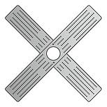 Платформа под люстру крестовая