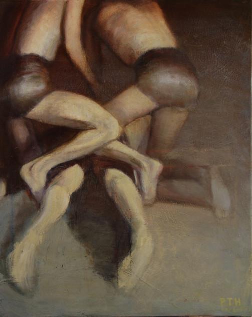 Three Figures on the Floor
