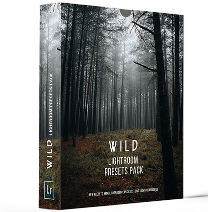 WILD - Lightroom Presets Pack
