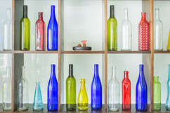 Our Bottle Gallery Wall