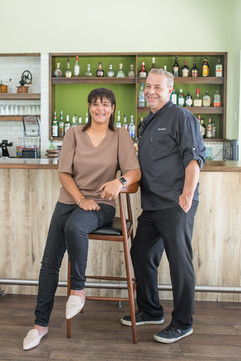 Owners Gillian & Eric Vernice