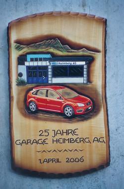 Auto und Garage