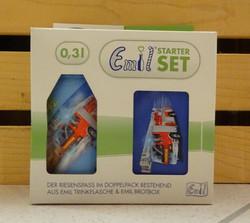 Set: Feuerwehr 3dl Flasche und Box