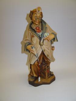 Arzt - Figur aus Holz