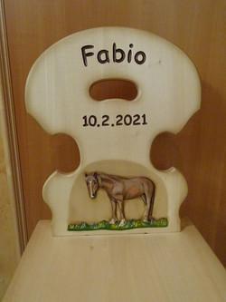 Kinderstabelle Fabio
