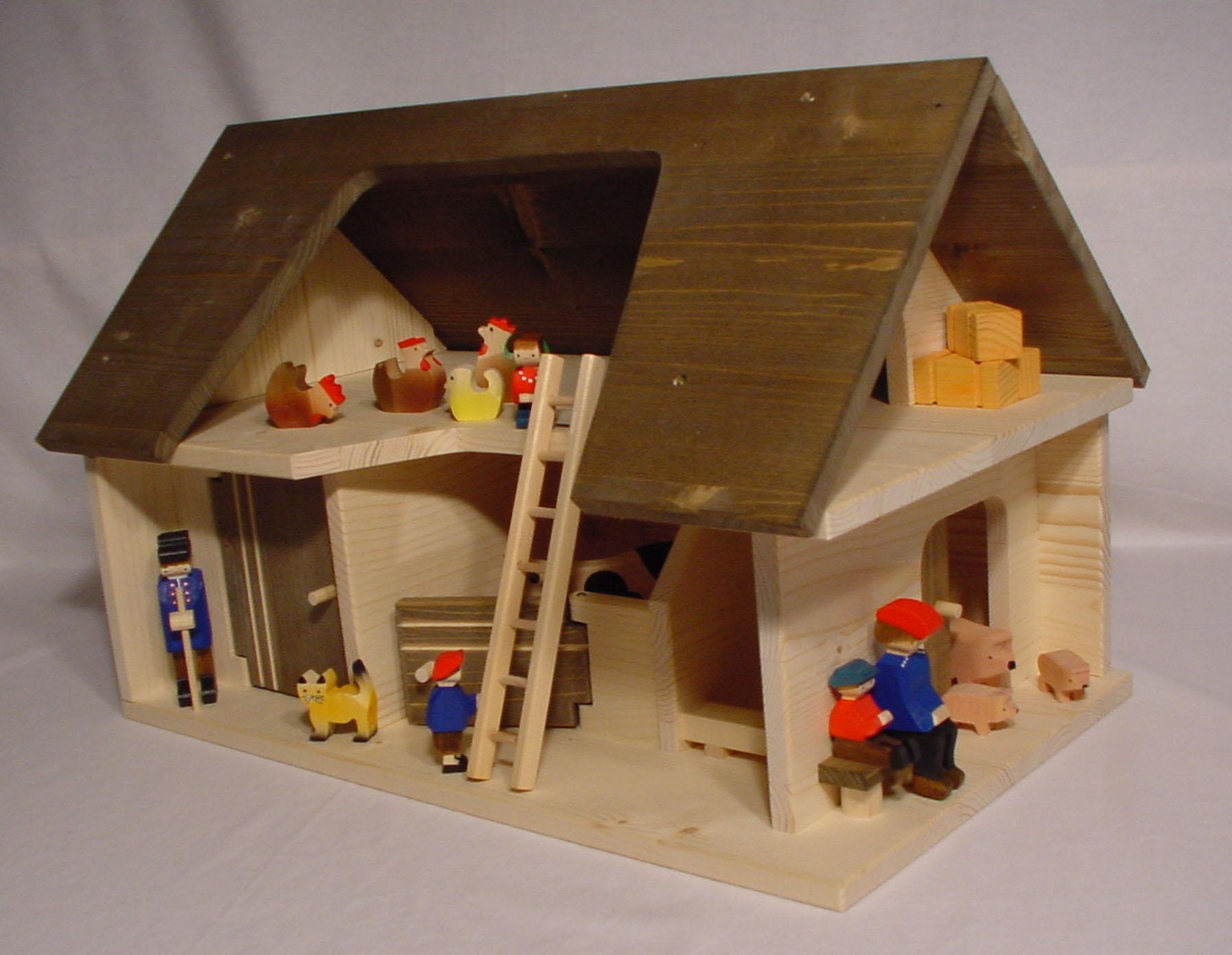 Stall Nr. 2005 mit Tiere