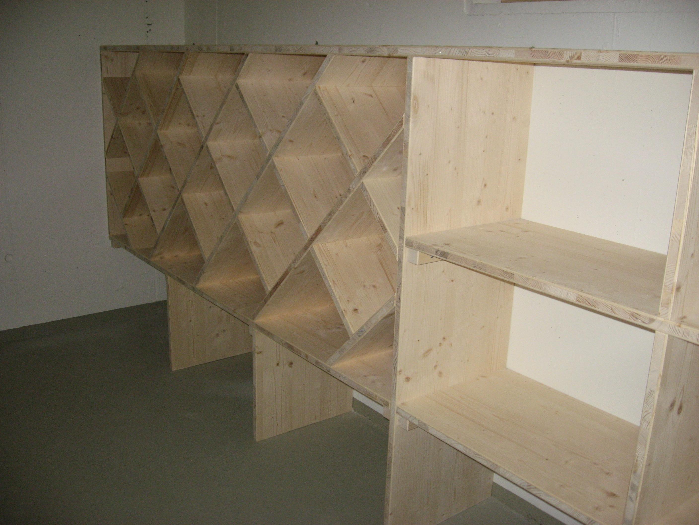 Wein- und Lagergestell Keller