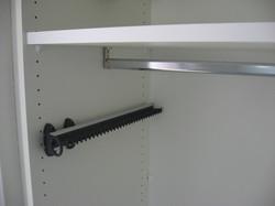Innenausstattung Schrank, Krawattenhalter