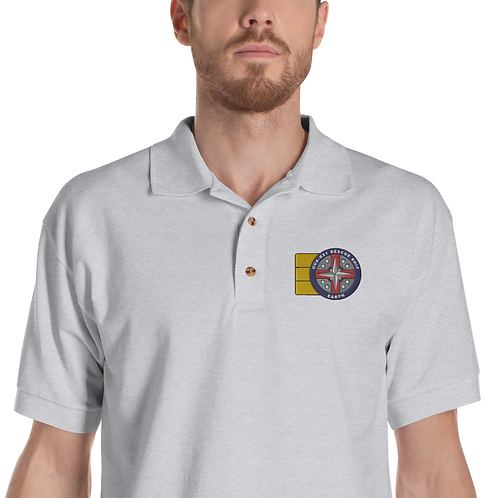 UUA-R24 CREW Embroidered Polo Shirt