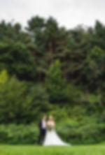 Bride & Groom woodland Wedding venue, The Keeper and the DelNorfolk,