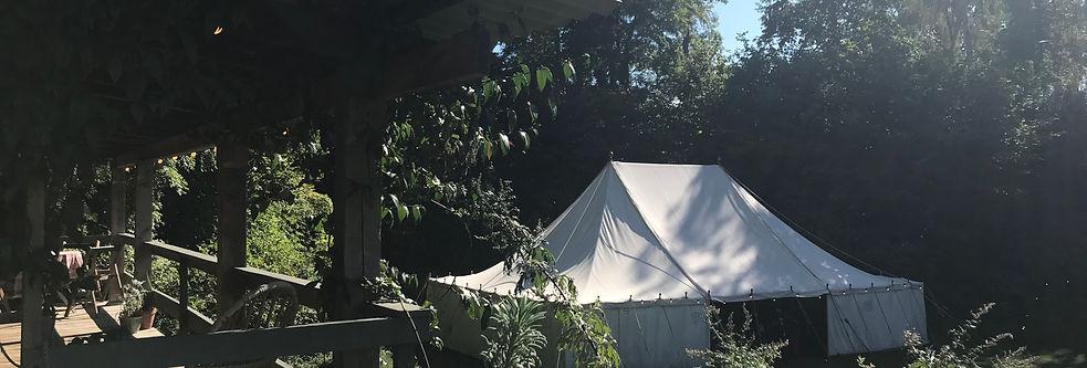 traditional canvas marquee outdoor wedding venue norfolk