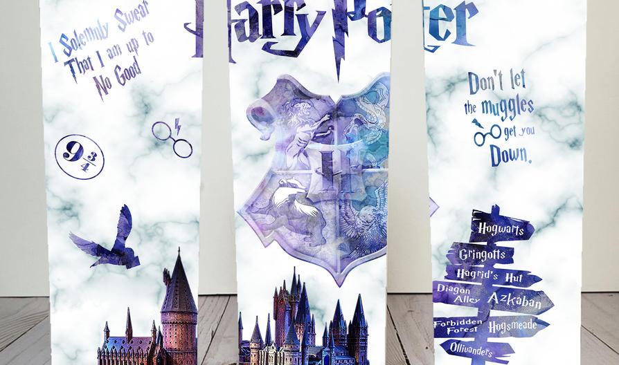 Harry Potter Skinny Tumbler