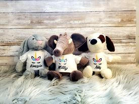 custumized stuffed animal