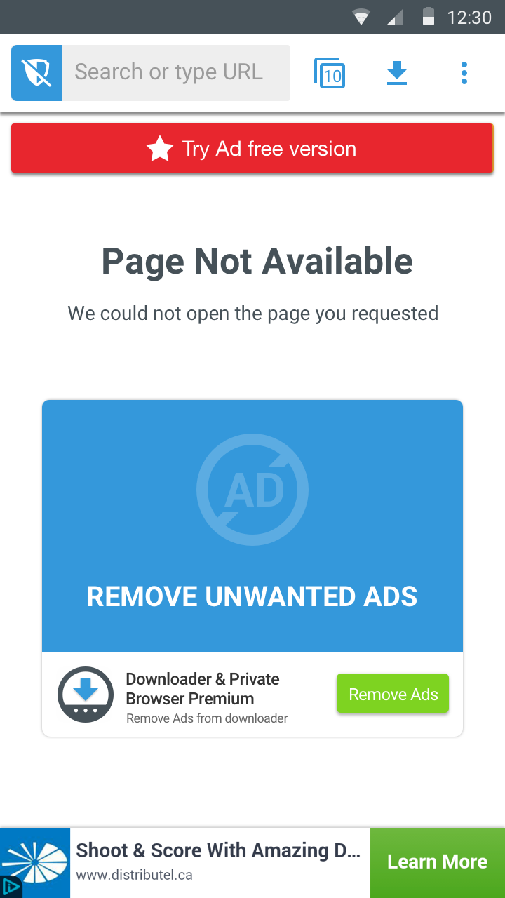 Error VPN subscriver