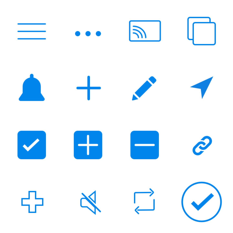 iOS icons 1