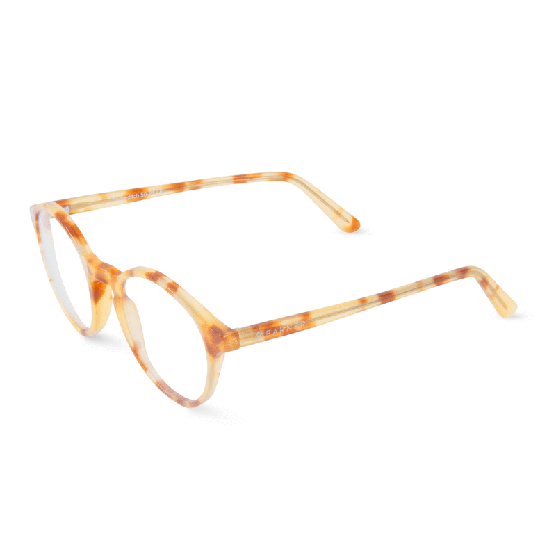 Shoreditch light havana barner brand glasses