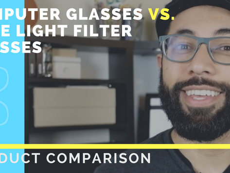 Computer vs. Blue Light Filter Glasses: What's The Difference?