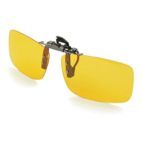 Besgood Yellow Polarized Clip-on