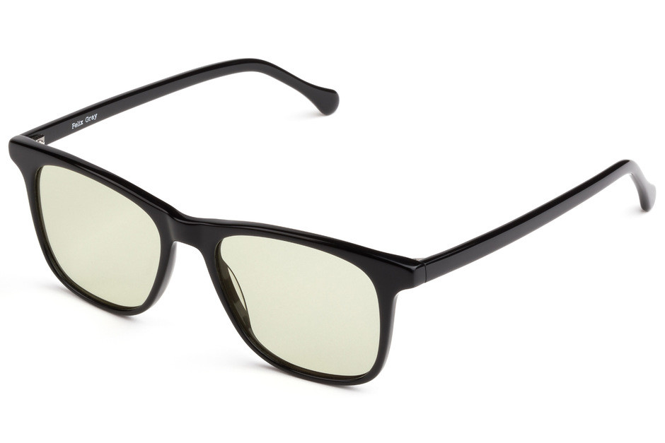 Felix Gray Jemison Black Sleep Glasses
