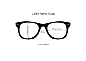 eyewear frame measurements