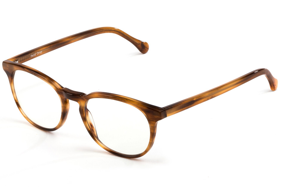 Felix Gray Jemison with clear lenses