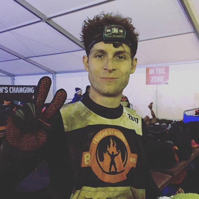 I did it! Europe's toughest mudder 8hr night race