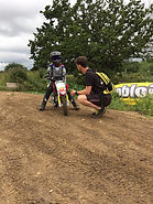 Motocross sports therapy
