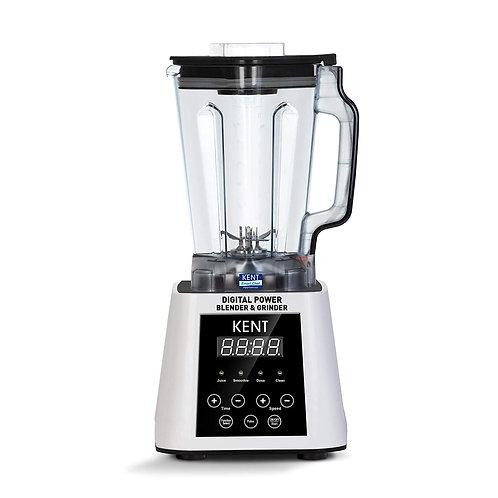Refurbished Kent 16027 2500-Watt Digital Power Blender with Jar (White)