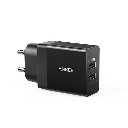Refurbished Anker 12W Power Port 2 Dual USB Wall Charger