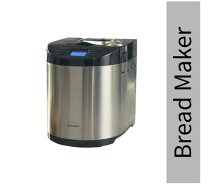 Refurbished Sharp Table-Top Bread Maker for Home, Kitchen | Fully Automatic