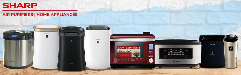 Sharp Air Purifiers & Home Appliances |