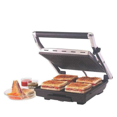 Refurbished Borosil Super Jumbo BGRILLSS23 2000-Watt Grill Sandwich Maker