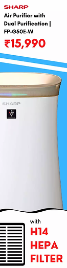Sharp Air Purifier for Homes & Offices |