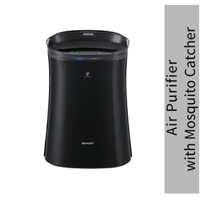 Sharp Air Purifier with Mosquito Catcher H14 HEPA Filter FP-GM50E-B