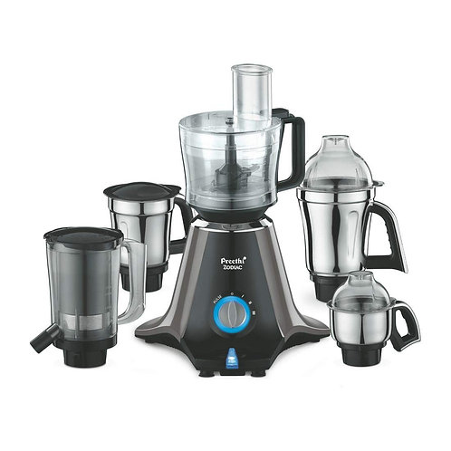 Open-Box Preethi Zodiac MG 218 750-Watt Mixer Grinder with 5 Jars