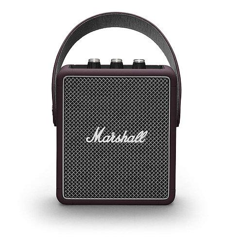 Open-Box & Unused Marshall Stockwell II Portable Speaker (Burgundy)