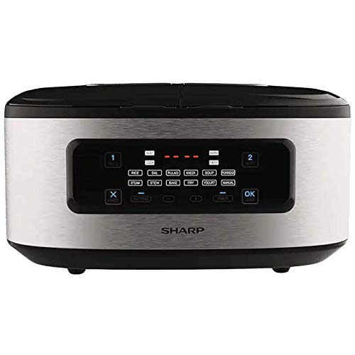 Sharp Twin Cooker 1st Dual Pot Multi Coo