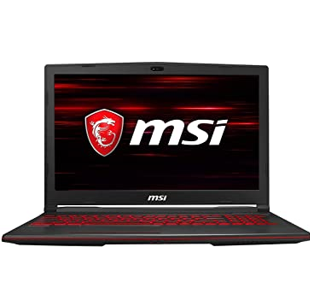 MSI Gaming GL63 9SC-217IN Intel Core i5-9300H 9th Gen 15.6-inch Gaming Laptop