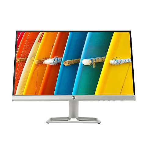Refurbished HP 21.5 inch Full HD LED Backlit Ips Panel Monitor (22F) (3AJ92AA)
