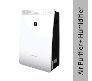 Sharp Air Purifier with Humidifier for Homes, Rooms, Office