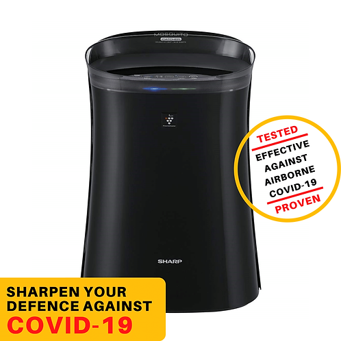Sharp Air Purifier with Mosquito Catcher | FP-FM40E-B